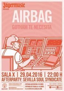 airbag -  sala x