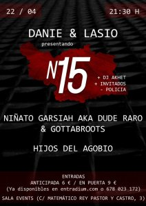 Danié y Lasio Sala events