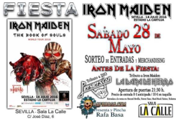 iron maiden sala la calle
