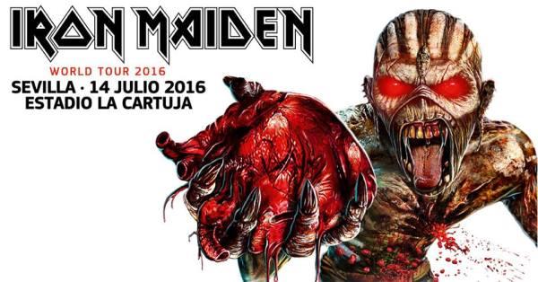 iron maiden - sevilla